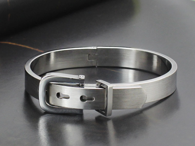 2015 New Charm Nail Bangle Stainless Steel Top Quality Bracelet Bangle For Women(China (Mainland))