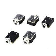 IMC Caliente 5 Unids 5 Pin 3.5mm Mono Jack Zócalo Montaje En Panel para Auriculares de Audio