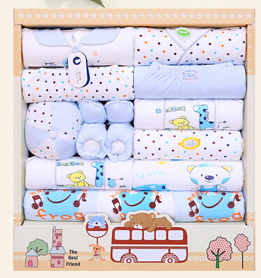 new 2015 100% cotton newborn baby clothing sets 15pcs infants suit baby girls boys clothes Xmas gift<br><br>Aliexpress