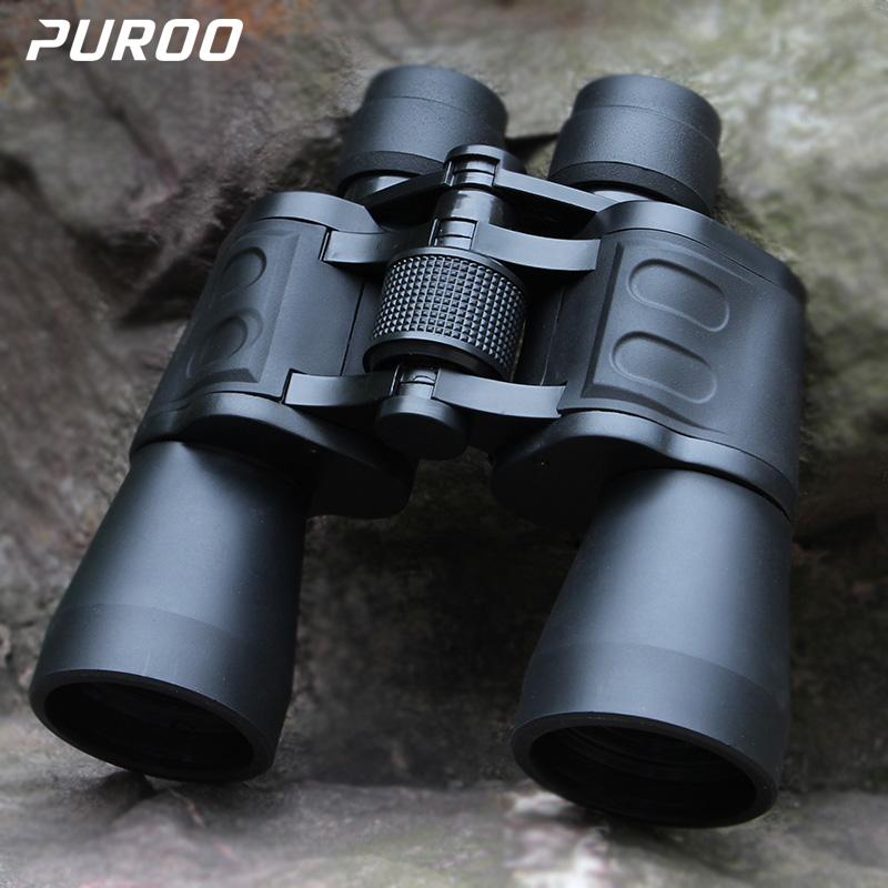 Military binoculars night vision view