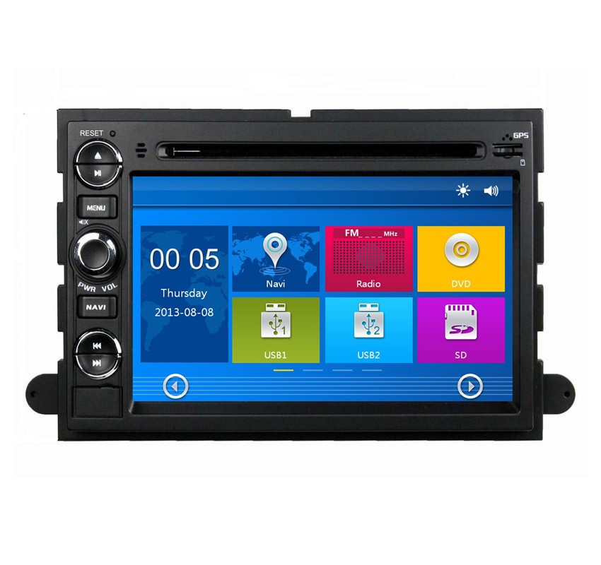 7 Inch 2 Din Car DVD Player For Ford Fusion Explorer F150 Edge Expedition,Automotivo Indash GPS Navi,Radio,Stereo,Bluetooth(China (Mainland))