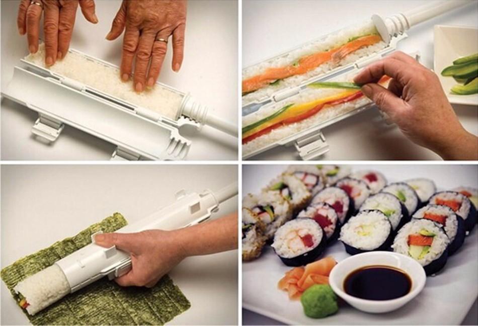 New Sushezi Roller Mould Kit – Sushi Rolls Made Easy
