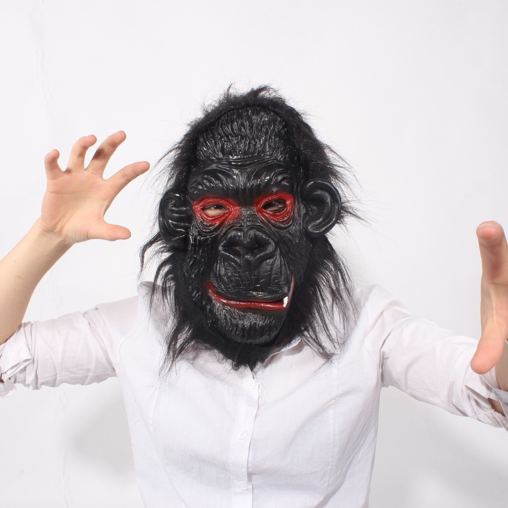 fashion party supplies halloween adult props classic horror mask Big ear the gorilla masks halloween Terrorist gorilla masks(China (Mainland))