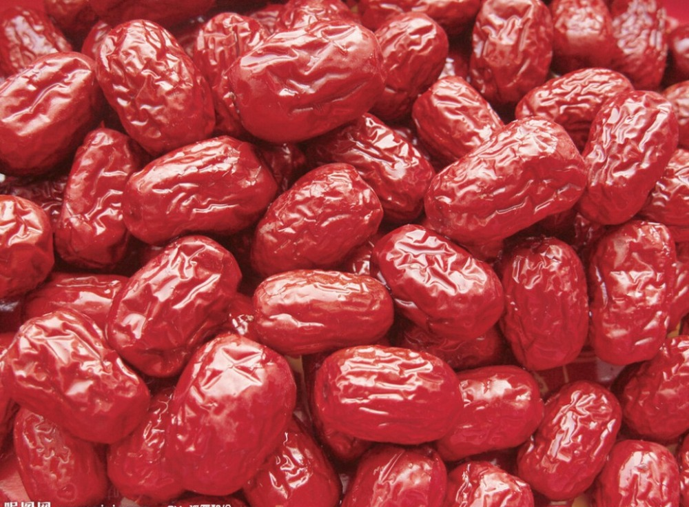 Гаджет  Free Shipping 500g/bag Chinese Dried Fruit Red Date Leisure Snacks Sweet Nutritious Food None Еда