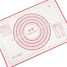 60 * 40 cm antiadherente de silicona para hornear Mats Liners pastel de rodadura Cuttinig masa de Pizza Fondant Mat pastelería hoja accesorios suministros(China (Mainland))