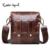 Cobbler Legend Original Real Cowhide Leather Men Bag For Man 2016 New Vintge Style Men's Mini Cross Body Shoulder Bags #911048