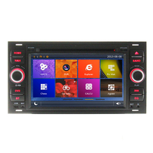Car DVD GPS For Ford Focus C-MAX Fiesta Fusion Galaxy Kuga 2003 2004 2005 2006 2007 2008 Radio Phone link Bluetooth Ipod RDS
