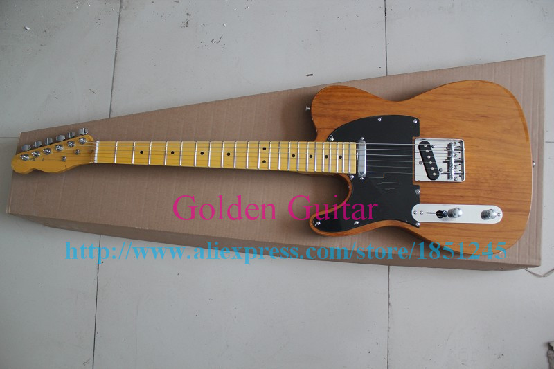 Wooden lubricious color 2015 new tele guitar Lefthand Bass hot selling for free shipping!(China (Mainland))