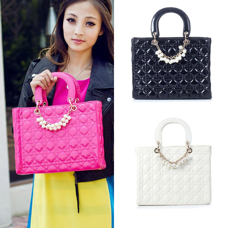 1pc Fashion PU Leather Women Handbag Fanmous Luxury Casual Bag Tote Bags -- BIA119 PR30 Wholesale<br><br>Aliexpress