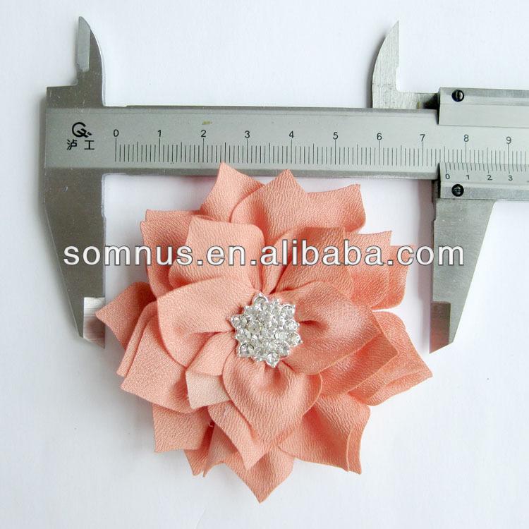 Fabric Flower garments accessories garment accessories market in guangzhou(China (Mainland))