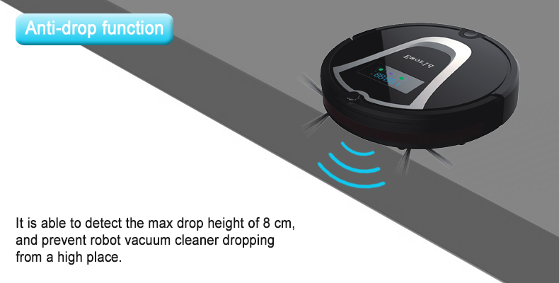 (Free to RUS) Eworld Multifunction Robot Vacuum Cleaner(Sweep,Vacuum,Mop),Touch Screen,Schedule,2Way Virtual Wall,Self Charge(China (Mainland))