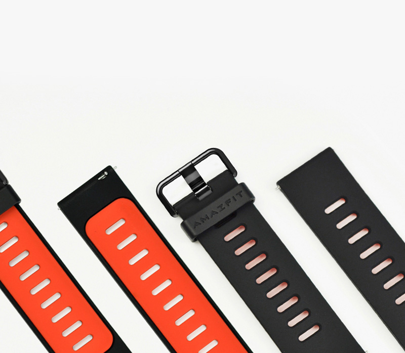 Original Huami Xiaomi Amazfit Silicone Strap Replacement Silicone Wristband For Amazfit Smart Watch Silica Gel Wristwatch Band (3)