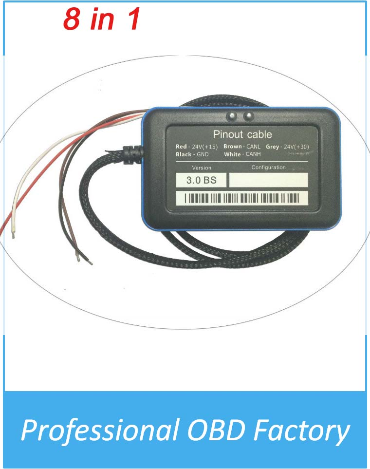 Wholesale Adblue Emulator 8 in 1 Adblueobd2 System Used in Trucks Other Heavy Vehicles with more fuction(China (Mainland))