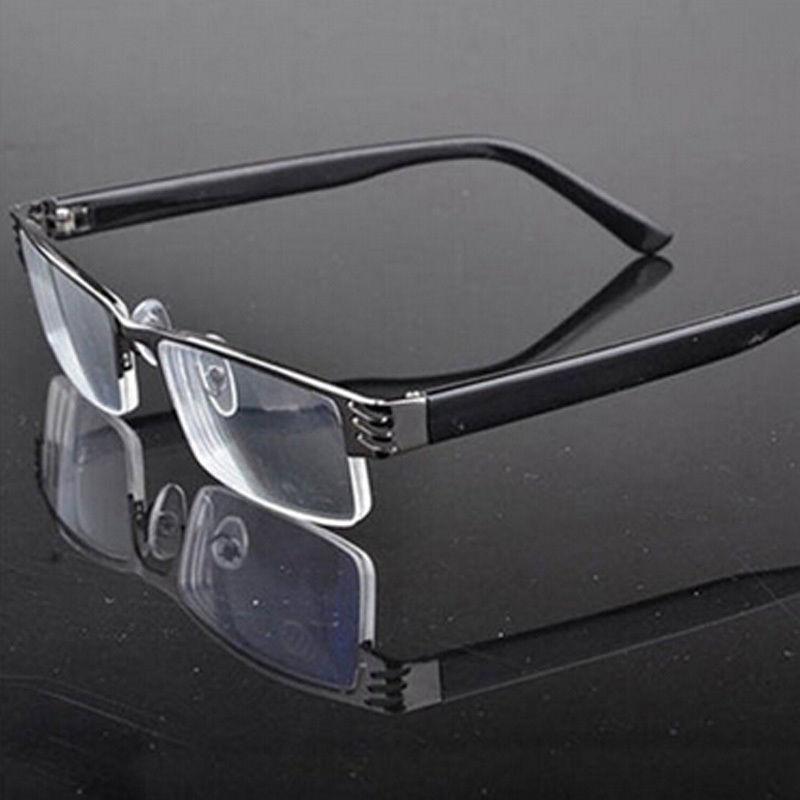 new fashion male female unisex Reading Glasses Presbyopic Tube Case light man woman presbyopic glasses frame soft black L07412(China (Mainland))