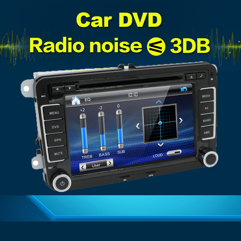 New! car dvd radio stereo GPS vid player 2Din 7Inch For VW/Volkswagen/Passat/POLO/GOLF/Skoda/Seat 3G USB GPS BT FM RDS Free Maps(China (Mainland))