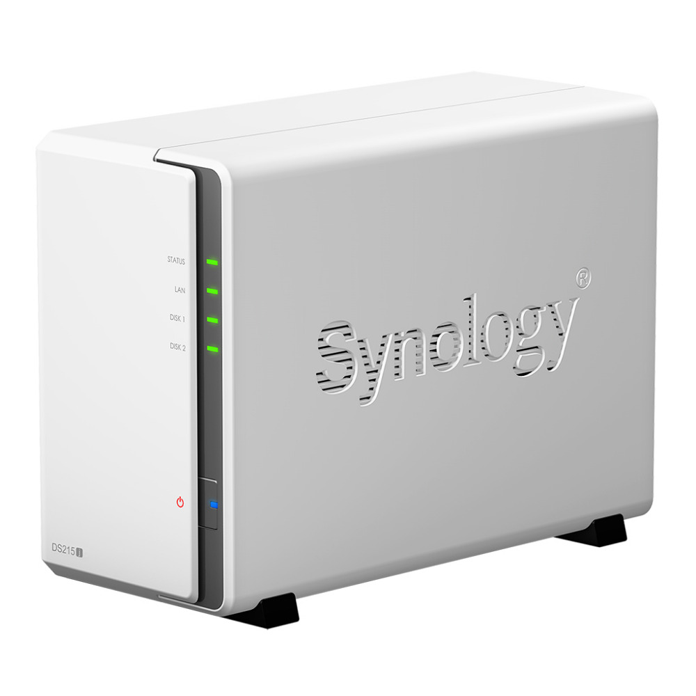 Synology ds216j a 2-bay NAS designed for home and personal users ,dual-core CPU,RAID, DLNA Media ,File Sharing, USB 3.0(China (Mainland))