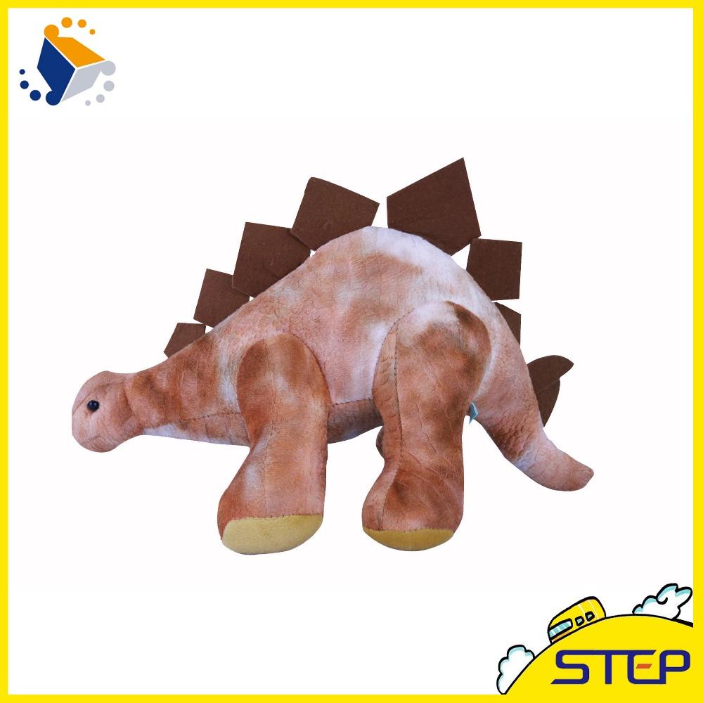 Free Shipping 1pcs 16Inch Giant Dinosaur Plush Animal Toy Soft Stegoceras Doll for World Park Home Decor ST398(China (Mainland))