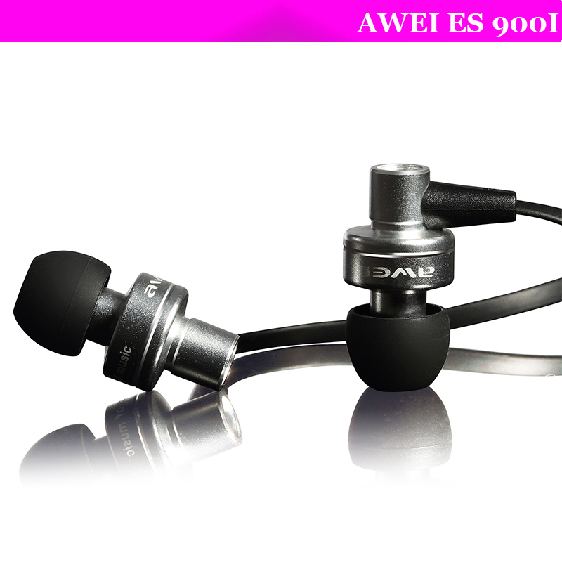 BRAND Original Awei ES900i In-Ear Earphone for Iphone Samsung HTC Xiaomi,Clear Bass with Mic Headset Headphone,Free shipping(China (Mainland))