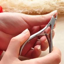 1pcs Cuticle Nail Art Stainless Steel Nail Nipper Clipper Manicure Plier Cutter Nail Tools(China (Mainland))