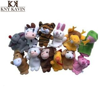 Finger toys represents means wholesale finger puppets , 12 zodiac animal represents hand puppets ,even the puppets for sale(China (Mainland))
