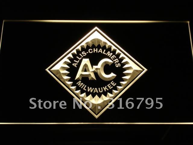 d172-y ALLIS CHALMERS Tractor LED Neon Light Sign Wholesale Dropshipping(China (Mainland))