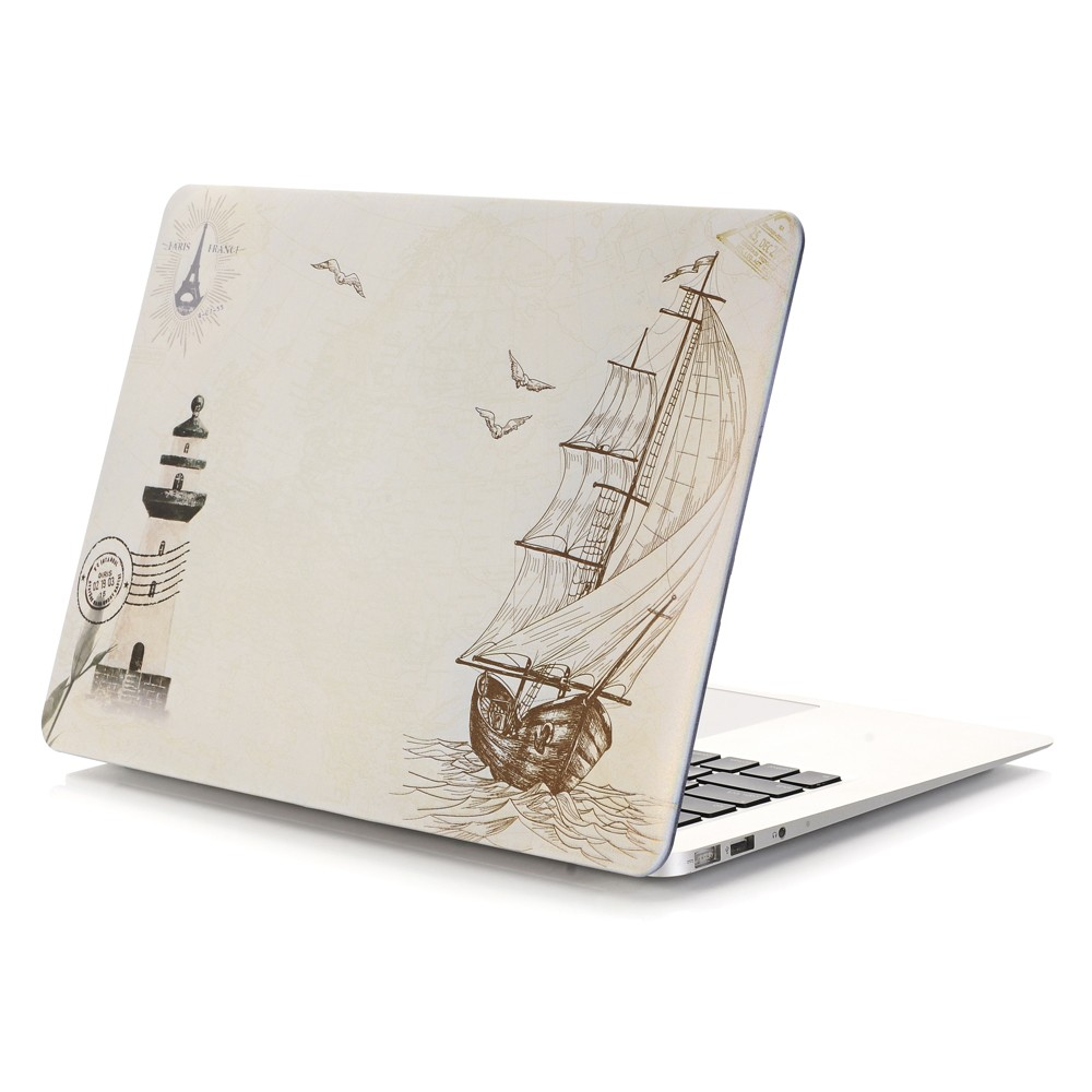 New Fashion Matte Color printing Hard Case Cover for Macbook Air 13 12 11 Pro 13 15 inch With Retina Laptop Sleeve Accessories