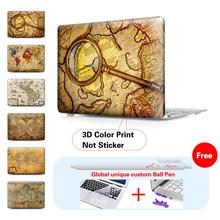 1778 World Map Matte Surface Cover Case For Apple Macbook Air 11 13 Pro 13 15 Pro Retina 13 15 Laptop Case For Mac Air 13 Case