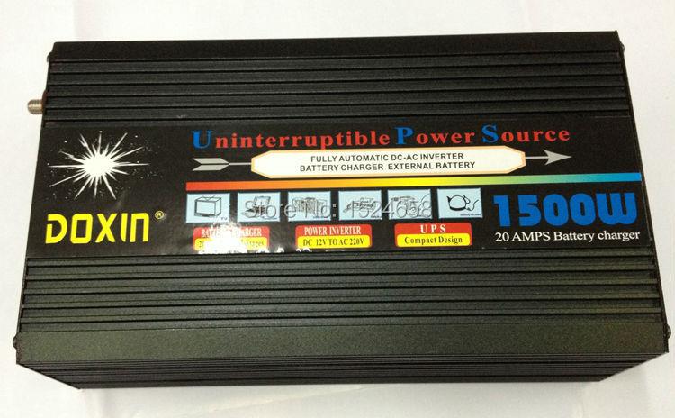 CE RoHS 24v 12v 1500w charger inverter, hybrid inverter 1500w, built-in controller 30A, peak 3000w UPS(China (Mainland))