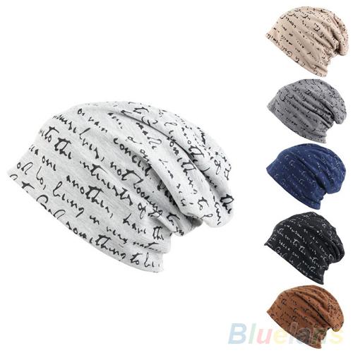 Мужские женские унисекс Hip-Hop теплая зима хлопок полиэстер вязать лыж шапочка шапка ...