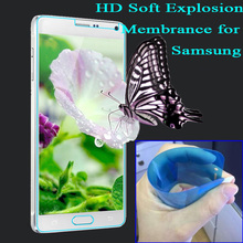 Not Glass Perfect Fit Anti Explosion proof Screen Protector for font b Samsung b font Galaxy