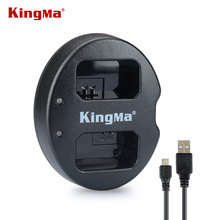 KingMa for Sony NP-FW50 Battery Double (Dual) Charger Alpha 7 a7 Alpha 7R a7R 7S a7S a3000  a5000  a6000 Free shipping(China (Mainland))