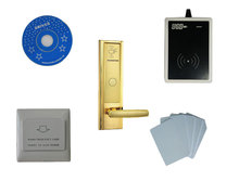 Buy Free ship DHL,T57 card hotel lock system, include T57 hotel lock, usb hotel encoder,energy saving switch,T57 card,sn:CA-8020 for $230.00 in AliExpress store