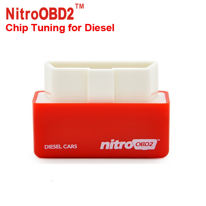 2016 New Arrival NitroOBD2 Diesel Car Chip Tuning Box Plug & Drive OBD2 Chip Tuning Box Lower Fuel and Lower Emission Free Ship(China (Mainland))
