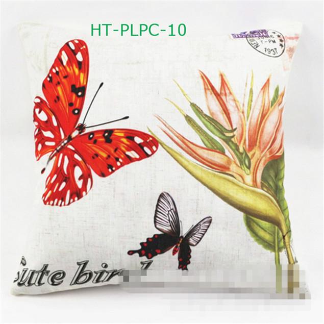 """2015 Rural 45 """" """" Linenette / planta / borboleta / BirHome / aves / sofá / Car Decor capa de almofada / fronha + 6 estilo(China (Mainland))"""