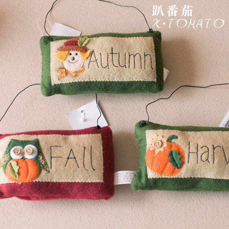whole sales,Thanksgiving day Thanksgiving decoration pendant small bag decoration(China (Mainland))
