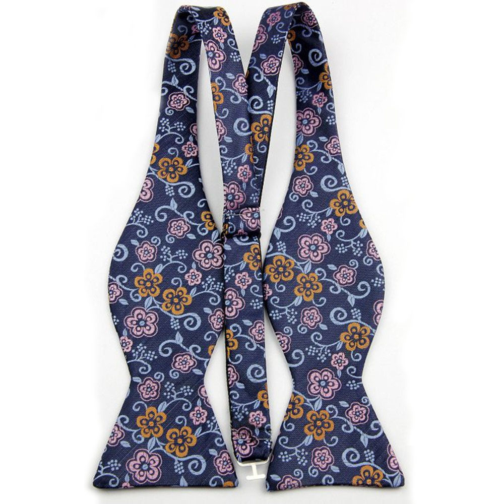 Silk Bow Tie Sets with Handkerchief for Men Floral Pattern Butterfly Bowtie Mens 001-059(China (Mainland))