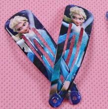6pcs lot Elsa Anna Clip Hairpins Hairclips Headwear Elsa Anna Olaf Clips for Girl Fashion Character