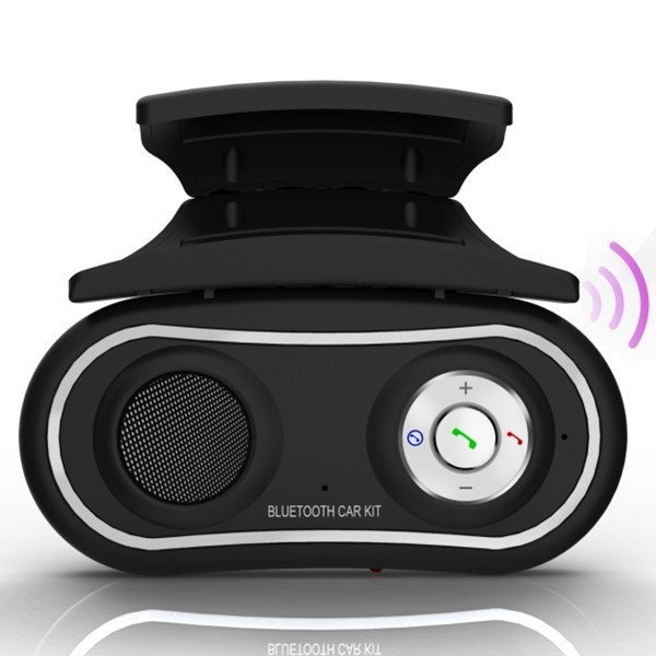 2015 New Arrival Universal Multipoint Steering Wheel Handsfree Bluetooth Car Kit Speakerphone Phone Speaker(China (Mainland))