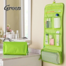 Promotions 1Pcs New Men Women Portable Cosmetic Organizer Bag Foldable Travel Storage Bags Toiletry Wash Bag