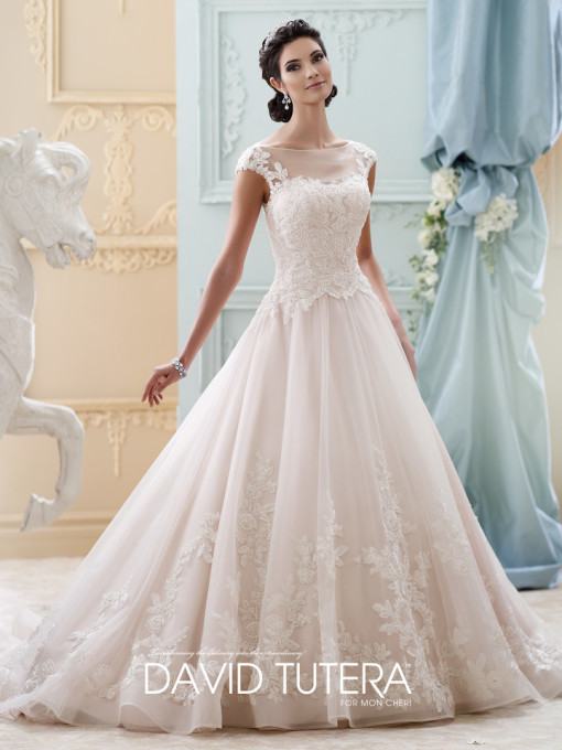 New 2015 Cap Sleeve Wedding Dress Elegant Scoop Sleeveless Appliqued Beaded Bridal Gown Vestidos Novia Nova Bridal JP85(China (Mainland))