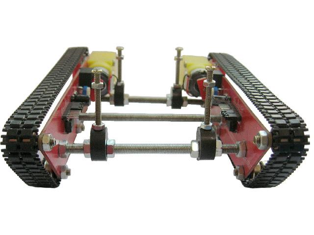 RC Tank Car Chassis Intelligent Robot Integrated Speed Motor Driver Module Patent Caterpillar Vehicles Crawler Barrowload UNO(China (Mainland))