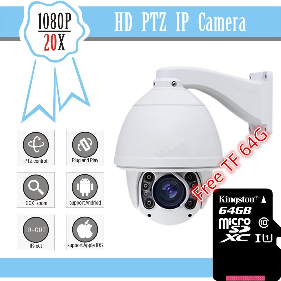 Blue Iris CCTV Camera 2016 20X Optical Zoom IR 150M High Speed Dome Full HD1080P Auto Tracking PTZ IP Camera with wiper(China (Mainland))