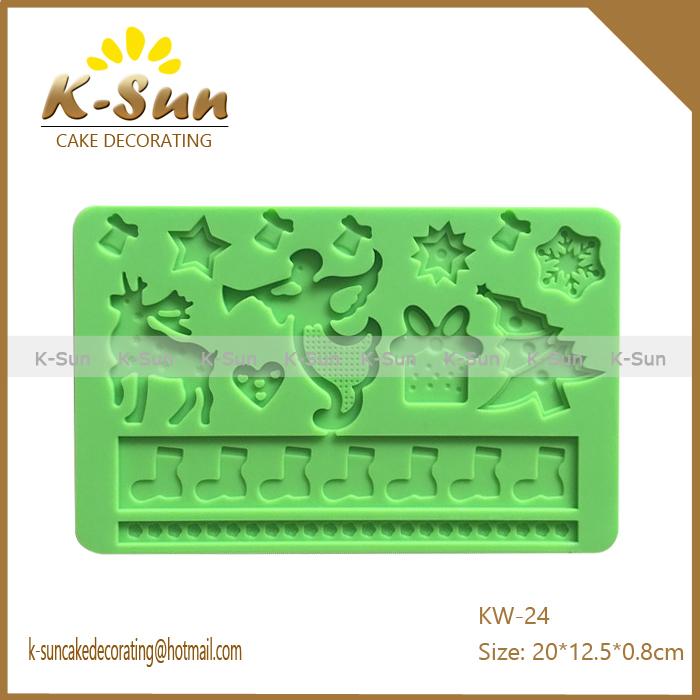 1PCS Deco reposteria accesorios de cocina silicone fondant ...