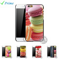 Colorful Dessert Cookie Macaroons Case for Apple iPhone 4 4s 5 5s 5c 6 6s 7
