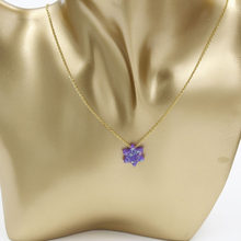 Fnixtar ze stali nierdzewnej złoty kolor biżuteria żydowska gwiazda dawida naszyjnik z opalem naszyjnik dla kobiet mężczyzn 45 cm + 5 cm extender2Piece/lot(China)