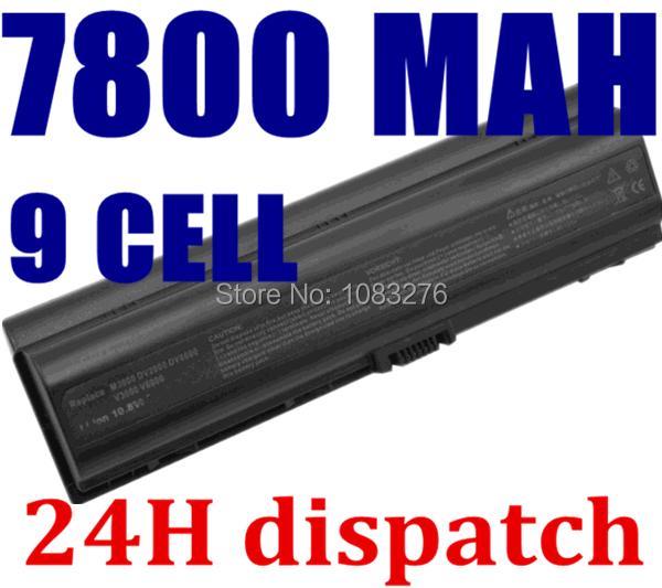 7800mAH laptop battery for HP Pavilion DV2000 DV2100 DV2200 DV2700 DV2800 DV2900 DV6000 DV6300 DV6700 HSTNN-DB42 HSTNN-LB42<br><br>Aliexpress
