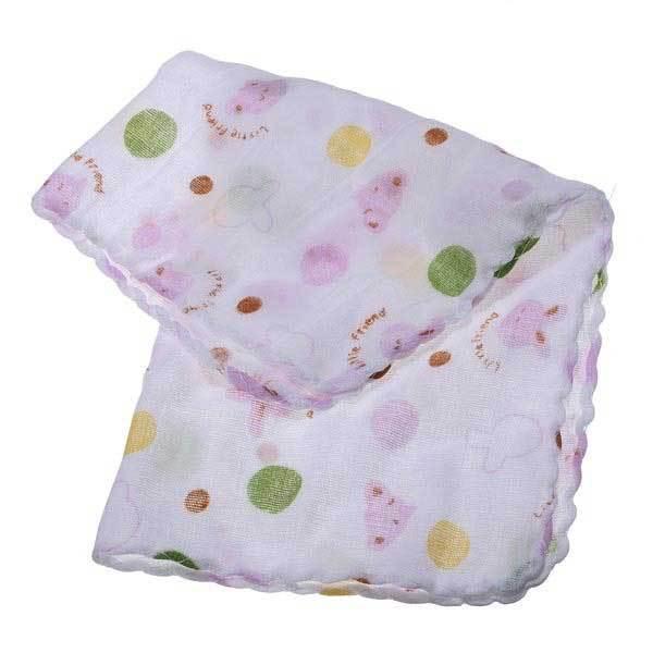 CoyaNosal Double Layer Gauze Handkerchief Child Baby Cotton Towel(China (Mainland))