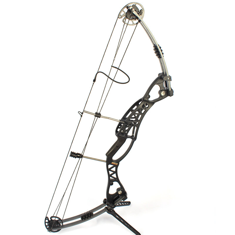 RH LH HAND Black 50 60Lb Magnesium Hunting compound bow for beginner Right and Left handed