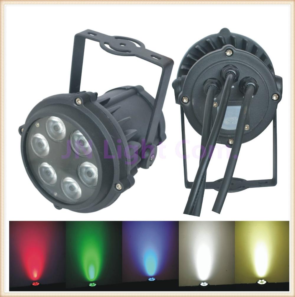 6*10W RGBW 4in1 Mini Waterproof LED Par Light/6X10W outdoor LED Par Light/IP65 DMX512 Led Par DJ KVT Wedding Party Disco light(China (Mainland))