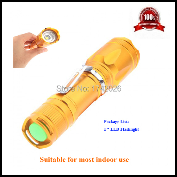 Free Shipping 2000 lm LED Waterproof Torch Flashlight Small and exquisite appearance with 5-mode lighting effect(China (Mainland))